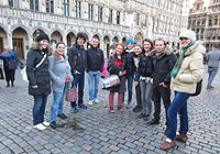 Travel to Brussels<br />from 1st to 4th november 2012