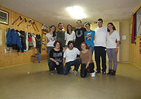 Last dance training 2012<br />27th november 2012