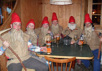 Dressed as dwarves<br />9th february 2013