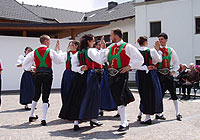 Performance at the retirement home in Ortisei<br />12th june 2005