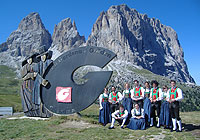 &quot;Festa da d'instè&quot; in Canazei/Val di Fassa<br />6th september 2009